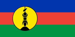 Flag of New Caledonia by Orca217