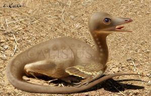 little troodon by Calisius