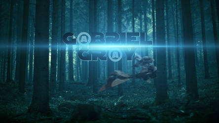 G@BRIEL GR@Y Banner BLUE Shift by GBRIELGRY