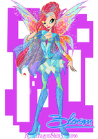 Winx: Bloom Bloomix by DragonShinyFlame
