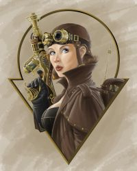 Steampunk Aviator by skekUng