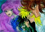 Saint Seiya by Dhesia