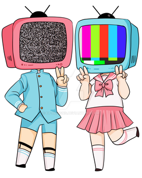 Telly Couple by ET-Designs