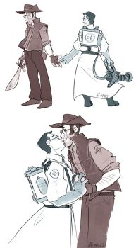 TF2-MedcixSniper Doodles by MadJesters1