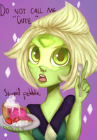 angry slice of pie :updated:  + Speed Paint by A-Psycho-Banana