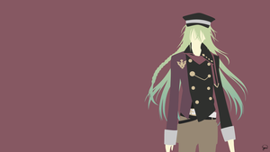 Ukyo (Amnesia) Minimalist Wallpaper by greenmapple17