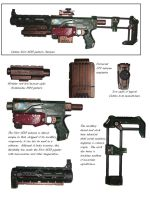 Nerf Recon CS-6 WH40k by precinctomega