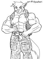 Military Wuffie by ronso