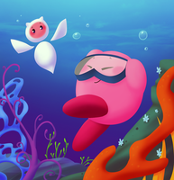 Ocean Kirby by MixedUpMagpie