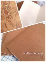 sketchbook cover auction CLOSED by catlinq