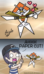 Paper Cut by GAmesterAxela