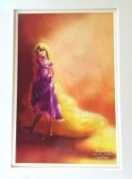 Rapunzel With Beads and Glitters by gabrielleandhita