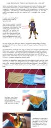 Fabric arm band tutorial by Bahamut50