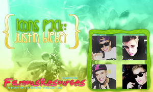 Pack Icons: Justin Bieber by FamousResources