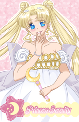 Princess Serenity by Glaceypuff