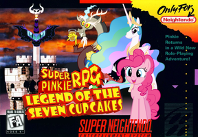 Super Pinkie RPG: Legend of the Seven Cupcakes by nickyv917
