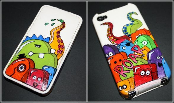 .monster iphone cover. by MyInterminableZent