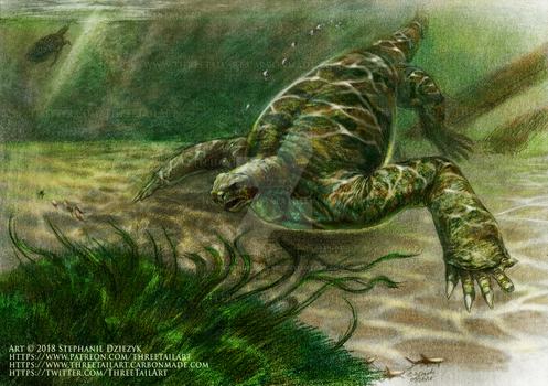 Cotylorhynchus - Color of The Lakebed