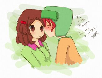 Kyle loves Rebecca by CariAguilar
