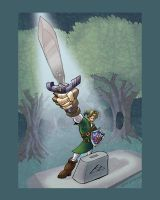 The Master Sword by Stnk13