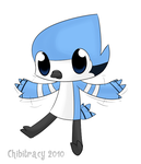 RS: Chibi Mordecai by chibitracy