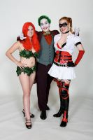 Joker and his Ladies by Sonic1002