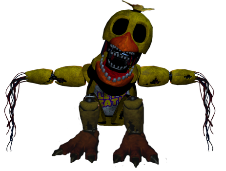 'Lifeless' Withered Chica Suit +Update by Bonnie-From-Fnafb