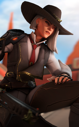 Ashe by Its-Midnight-Reaper