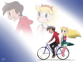 Starco - a ride back home by Prelloyd