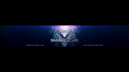 Youtube Banner Nannoc Design 2016 by NannocDesign