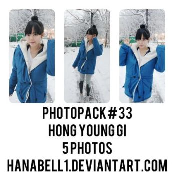 Photopack#33 Hong Young Gi by HanaBell1