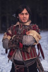 A simple Witcher / Eskel The Witcher Cosplay by KADArt-Cosplay