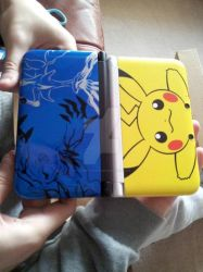 Our LImited edition 3ds XL's by Colorful-Kaiya