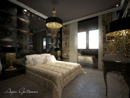 hotel-bedroom by aspa1984