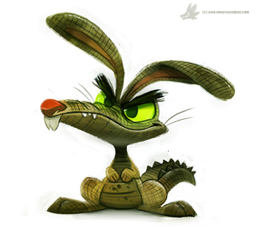 Day 782. Bunnyip by Cryptid-Creations