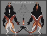 Morgul Wolf Contest Entry: O'siro by Xilveros