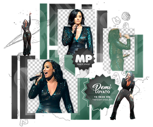 PACK PNG 1092| DEMI LOVATO. by MAGIC-PNGS