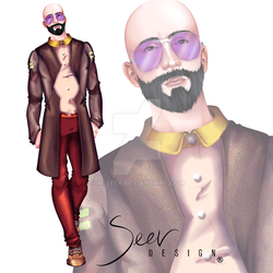 Daisy Garden Collection by Seer Design Look 1 by Im-Seer