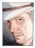 Justified  Raylan Givens by StevenWilcox