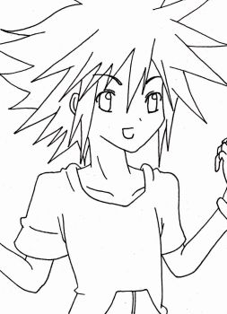 Sora (Outline) by KasumiKetchum