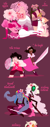 Pink Diamond's Court by HezuNeutral