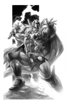 Thor Commission by sjsegovia