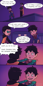 Superboy's Training by OtterTheAuthor
