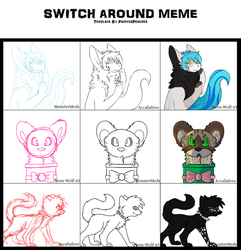 Switcharound Meme (HUGE!) by MonsterMeds