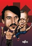 RED  HOT CHILI PEPPERS CARICATURE by xdrehhh