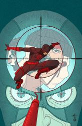 Daredevil #15 Story Thus Far by AfuChan