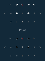 Point Cursors by alexgal23