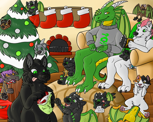 Christmas At Furians by Iceshadow13