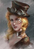 speedpainting(3h) by GothicQ
