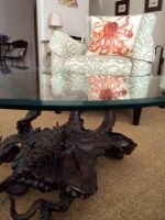 My bronze octopus coffee table in house! by bronze4u